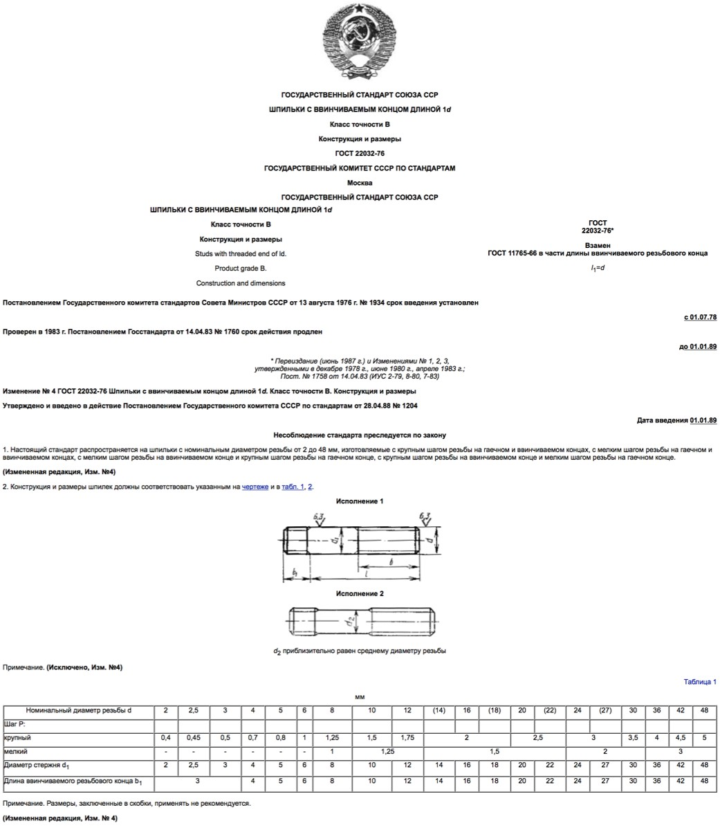 ГОСТ-22032-76
