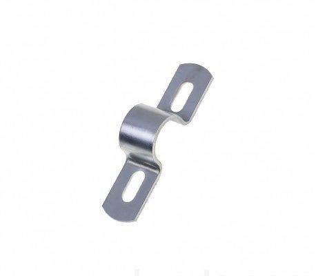 """Скоба металлическая, 2-х лапковая для крепления труб 3/4"""""""