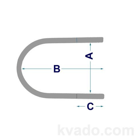 Размеры u-образной скобы